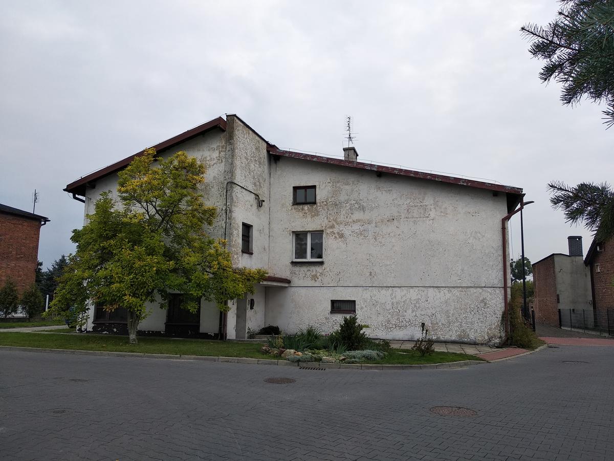 Budynek Socjalny w Chudowie 2020r.