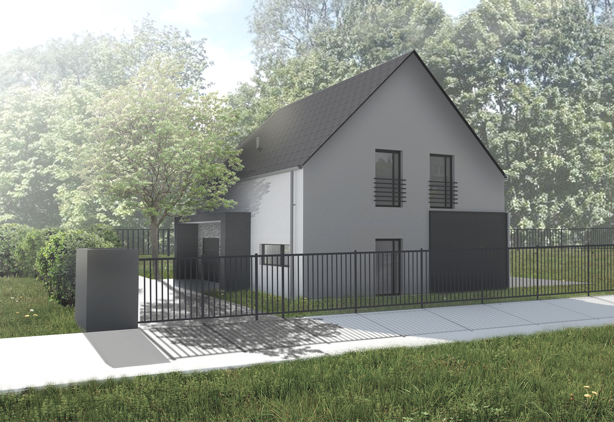 Dom w Okolicy Radiostacji – Gliwice 2015r.
