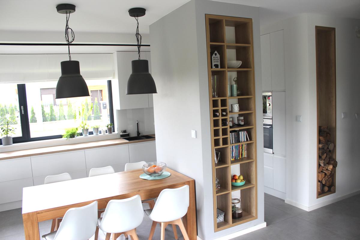 Projekt wnętrz domu jednorodzinnego w Gliwicach – Wójtowa Wieś 2016r