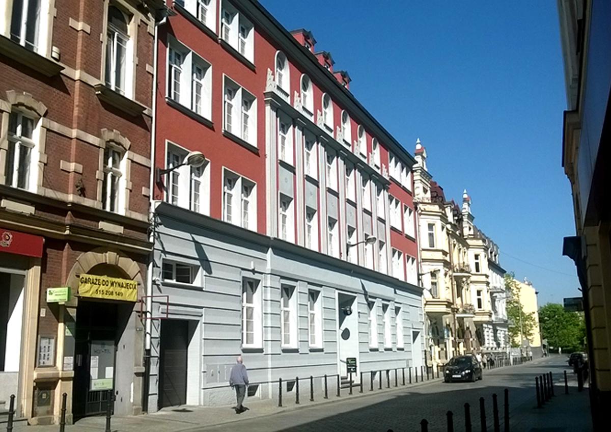 Renowacja Kamienicy przy ulicy Dolnych Wałów 11 w Gliwicach 2014r.