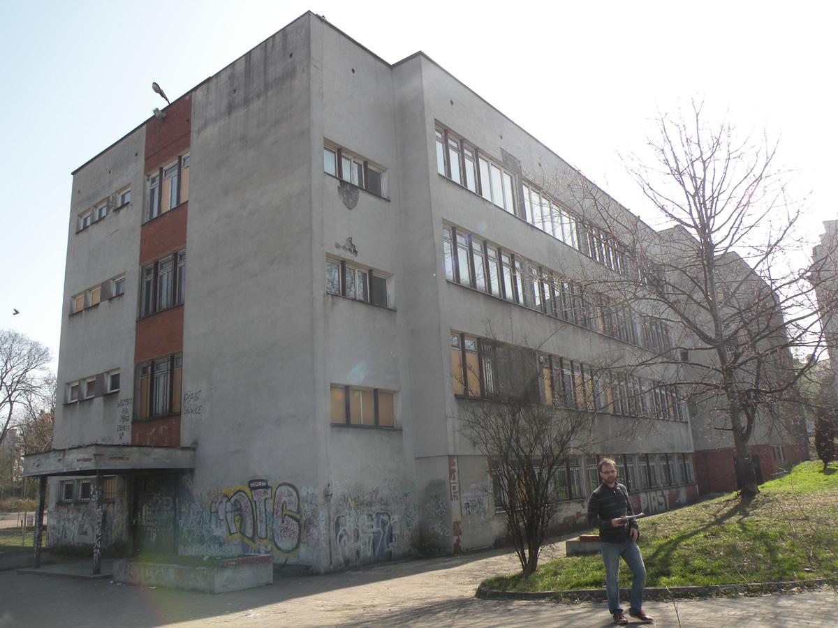 Budynek rehabilitacji osób chorych na SM - Pation w Gliwicach 2016r.