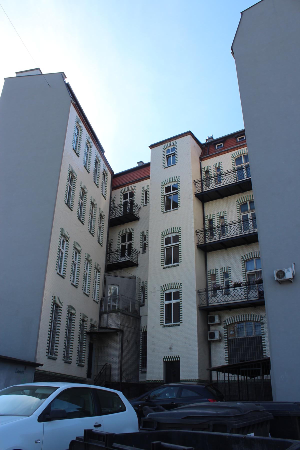 Renowacja Kamienicy przy ulicy Wolności 292 w Zabrzu 2013r.